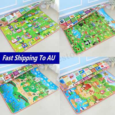 20mm 2mx1.5m Thick Baby Play Mat Floor Rug Cushion Crawling Picnic Blanket