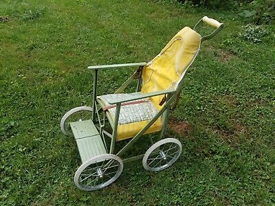 Columbia Tuk-A-Way Baby Stroller 1950's Vintage Antique Americana