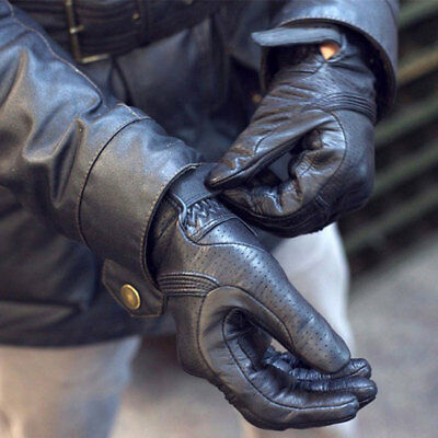 2019 New Real Leather Motorcycle Gloves Moto Waterproof Gloves Motocross Glove