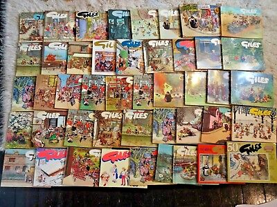 Huge Lot Of Giles Annuals