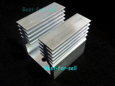 Aluminum Heat Sink For 78XX IC SSR Transistor LED TO-3 Package 44 X 45 X 45.5mm