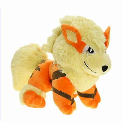 "Pokemon Center Arcanine Soft Plush Doll Stuffed soft Toy Collection Gift 12"" New"