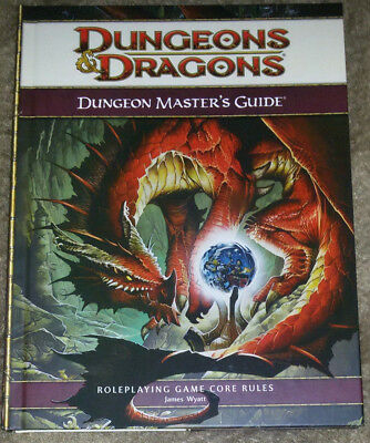 Dungeons & Dragons, Dungeon Master's Guide, 4th Edition  / Englisch