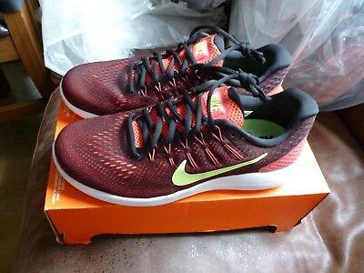 NIKE LUNARGLIDE 8 Uk Size 7 Mens Running Trainers New 843725-801 ... d802313ade