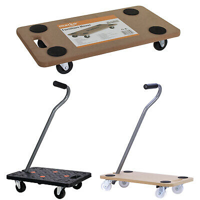Furniture Mover Platform Dolly Removals Warehouse Office Trolley Fridge Moving