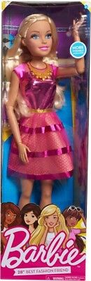 """NEW Barbie 28"""" Doll-Blonde from Mr Toys"""