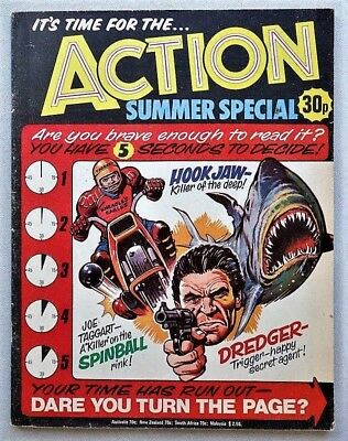 ACTION Summer Special 1977 comic issue penny nightmare IPC