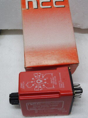 NCC T3K-5-461 Solid State Timer .05-5 SEC. Quantity Lot of 5
