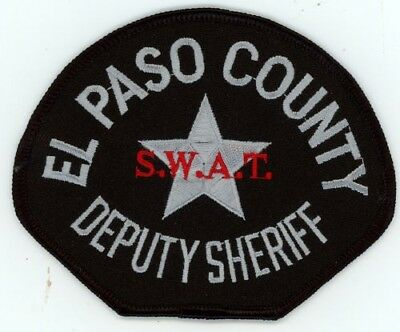 El Paso County Sheriff Colorado Co Swat See Below For Great Deal