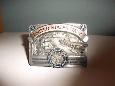 Buckles of America Masterpiece Collection United States Navy Belt Buckle 3086