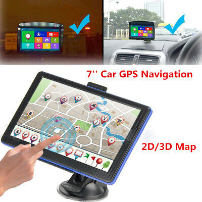 7'' Car GPS Navigation Lorry Coach Truck Navigator 8GB POI Speedcam 2D 3D Map