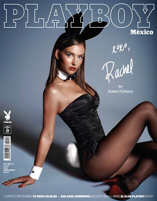"""Rachel Cook Nov 2018 """"PLAYBOY"""" MEXICAN MAGAZINE new and sealed"""