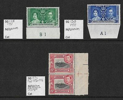 Stamps. KUT. KGVI. MNH. Small lot.