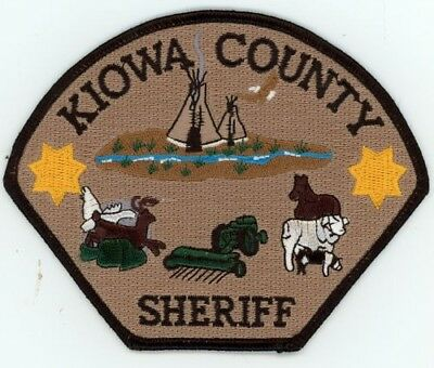 Kiowa County Sheriff Colorado Co Colorful Style #2 See Below For Great Deal