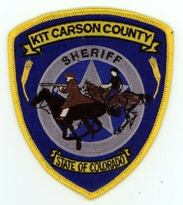 Kit Carson County Sheriff Colorado Co Colorful Style #1 See Below For Great Deal