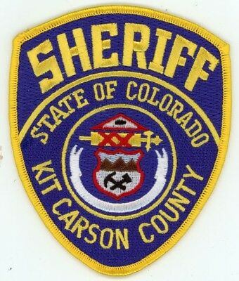 Kit Carson County Sheriff Colorado Co Colorful Style #2 See Below For Great Deal