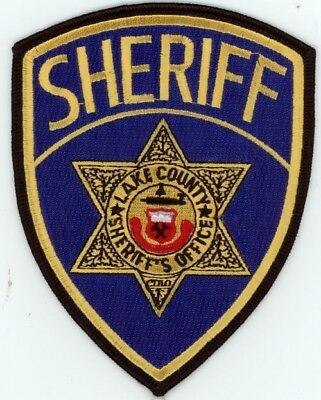 Lake County Sheriff Colorado Co Colorful Style #1 See Below For Great Deal