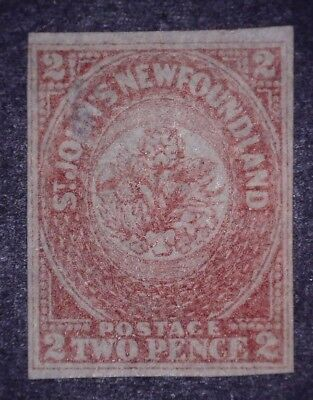 Newfoundland Stamp #17 MNG/TH