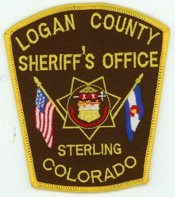 Logan County Sheriff Colorado Co Colorful See Below For Great Deal