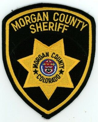 Morgan County Sheriff Colorado Co Colorful See Below For Great Deal