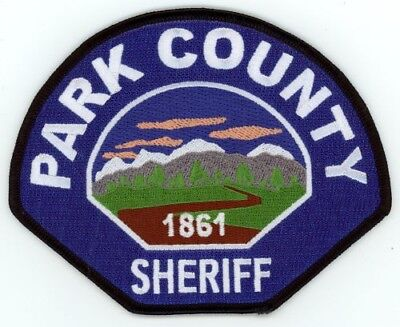 Park County Sheriff Colorado Co Colorful See Below For Great Deal
