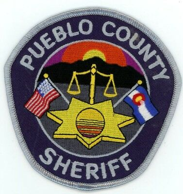 Pueblo County Sheriff Colorado Co Style #2 Colorful See Below For Great Deal