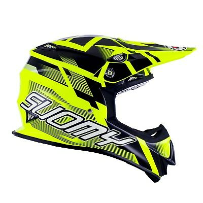 Suomy Mr Jump Special Mx Helmet - Acu Gold Stamped Approved - Su/Mr-Sp-Yell