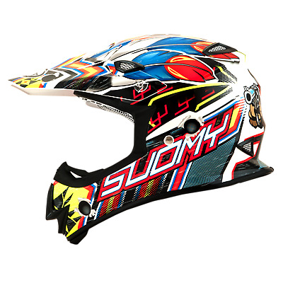 Suomy Mr Jump West Mx Helmet - Acu Gold Stamped Approved - Su/Mr-West