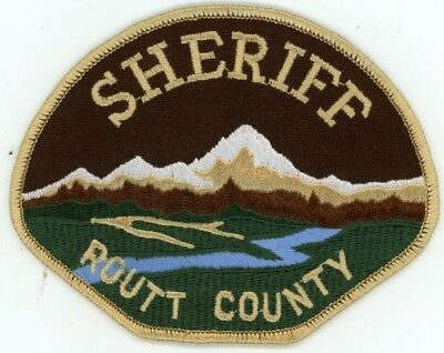 Routt County Sheriff Colorado Co Colorful See Below For Great Deal