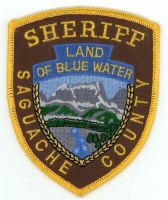 Saguache County Sheriff Colorado Co Colorful See Below For Great Deal