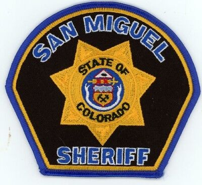 San Miguel County Sheriff Colorado Co Colorful See Below For Great Deal
