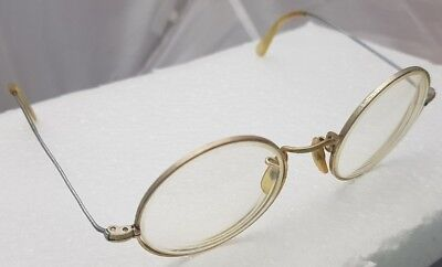 Eyeglasses ALGHA gold filled 12 KT GF Made in England? frame VINTAGE