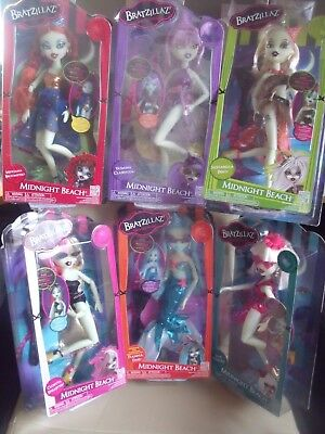BNIB Bratzillas - Midnight Beach - Glow in the Dark Dolls  - 6 to choose from