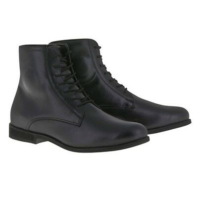 Alpinestars Parlor   Motorcycle Boots Shoes CE Approved Black size 45 UK 10.5