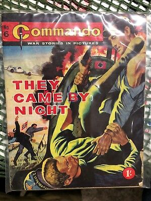 Commando Number 6 They Came By Night