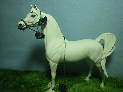 Handmade Arabian Bridle Halter  Costume Set Peter Stone or Breyer