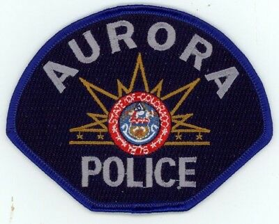 Aurora Police Colorado Co Colorful See Below For Great Deal