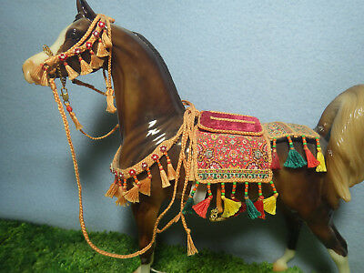 Handmade Arabian Saddle Costume Set Peter Stone or Breyer
