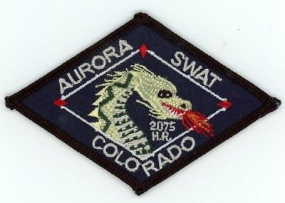 """Aurora Police Colorado Co Swat 4"""" Long See Below For Great Deal"""