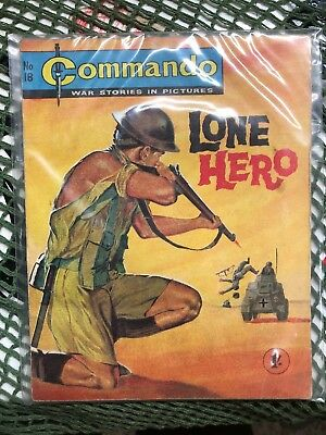 Commando Number 18 Lone Hero