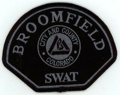 Broomfield Police Colorado Co Swat Subdued Tactical See Below For Great Deal
