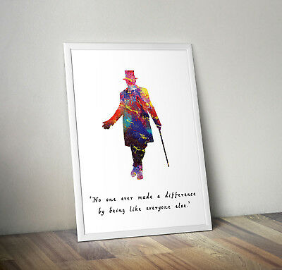 greatest showman inspired musical poster print wall art gift merchaindise #2