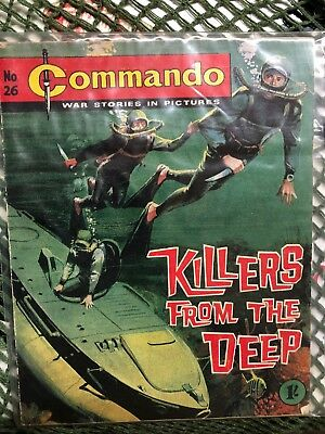 Commando Number 26 Killers From The Deep