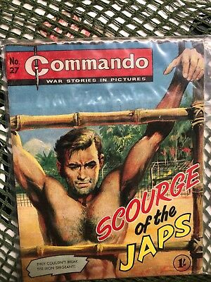 Commando Number 27 Scourge Of The Japs