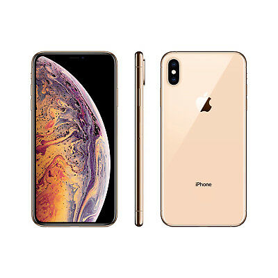 New Apple iPhone XS Max 512GB 6.5 inch Unlocked, Gold Next Day Delivery