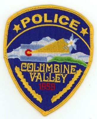 Columbine Valley Colorado Co Police Colorful Style #1 See Below For Great Deal