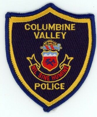 Columbine Valley Colorado Co Police Colorful Style #2 See Below For Great Deal