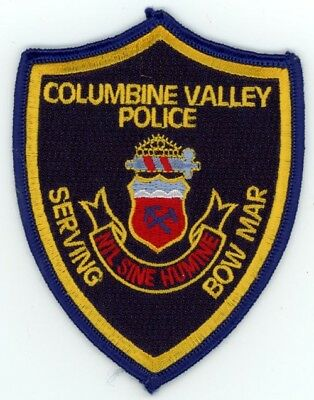 Columbine Valley Colorado Co Police Colorful Style #3 See Below For Great Deal