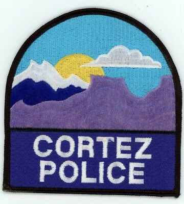 Cortez Colorado Co Police Colorful See Below For Great Deal
