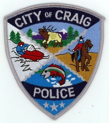 Craig Colorado Co Police Colorful Style #1 See Below For Great Deal